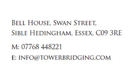 Tower Bridging Contact Information